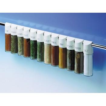 Set 8 especieros llenos para colgar con especies variadas