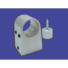 A2. Soporte barra aluminio (unidad)