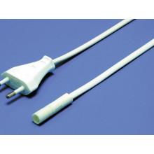 Cable de alimentación para una lámpara