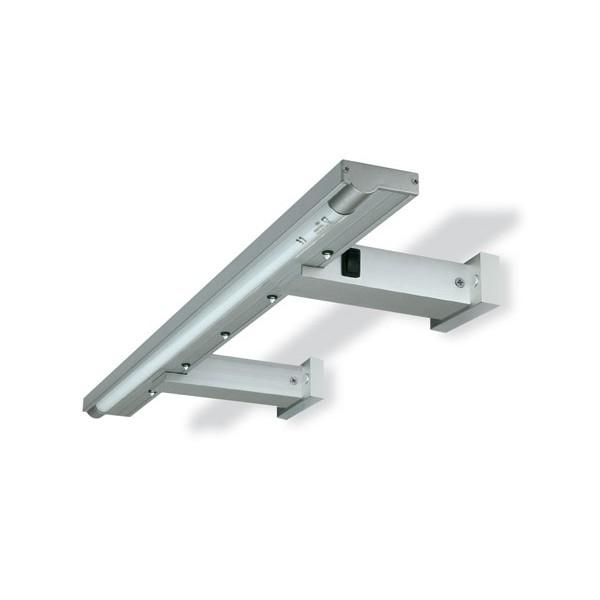l mpara para cornisa con leds en aluminio wolfgang On cornisa para led
