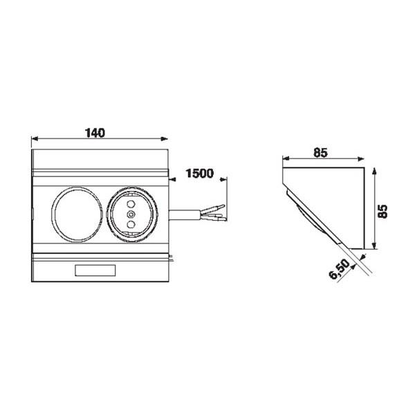 Energy box 90 de un enchufe y un interruptor wolfgang - Enchufe y interruptor ...