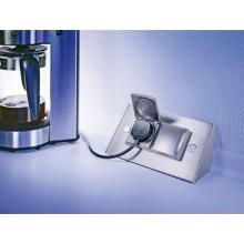 Energy box de dos enchufes con tapa protectora
