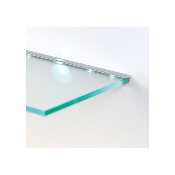 Tira de leds para colocar detr s de las baldas de cristal for Banos con repisas de vidrio