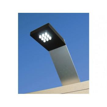 Foco para cornisa de aluminio con 9 LEDS