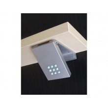 Foco orientable de de aluminio con 9 LEDS
