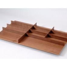 Cubertero nogal para cajón de 900 mm