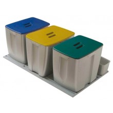 Kit de 3 cubos para gavetero de 900 mm.