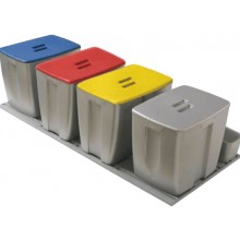 Kit de 4 cubos para gavetero de 1.200 mm.