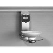 Peso electrónico de cocina en aluminio