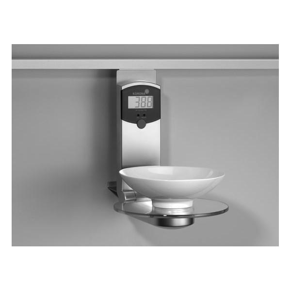Peso electr nico de cocina en aluminio wolfgang heidebrecht for Peso de cocina